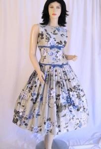 Платья в стиле ретро - основные детали.
